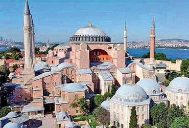હાજિયા સોફિયાઃ તુર્કીમાં ફરી ખલીફત ઊભી થશે  gujarat