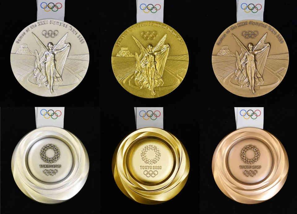 Tokyo Olympics Medal Ceremony