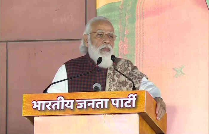 બિહાર : માં ભાજપની જીતની દિલ્હીમાં ઉજવણી, PM બોલ્યા- નીતિશ કુમારના નેતૃત્વમાં સંકલ્પ સિદ્ધ કરીશું