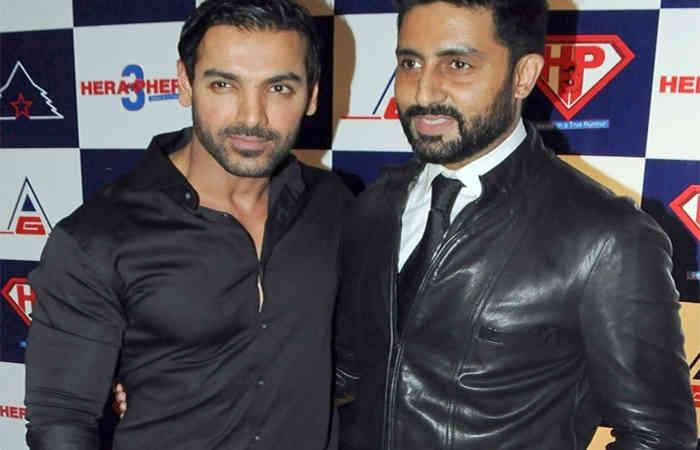 Abhishek Bachchan and John Abraham