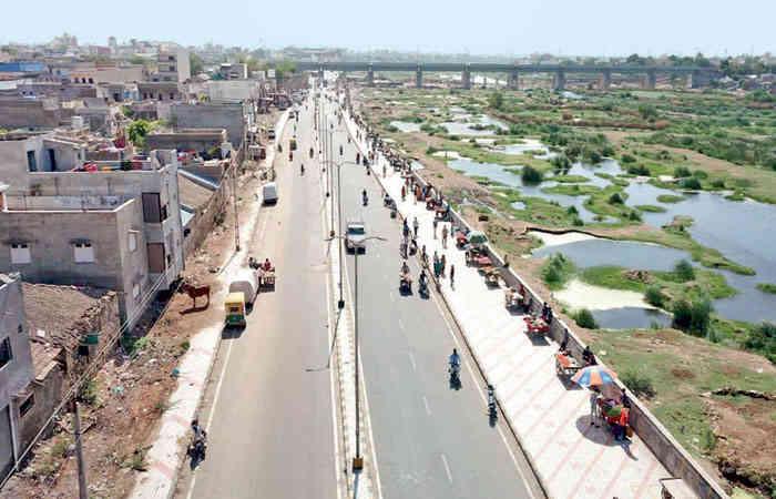 Surendranagar gets riverfront road